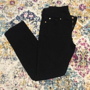 7 for all mankind Jeans. Black. Size 30. Like new!